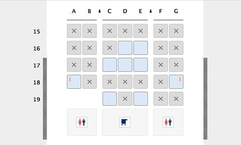 プラチナ座席b