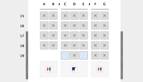 一般座席b