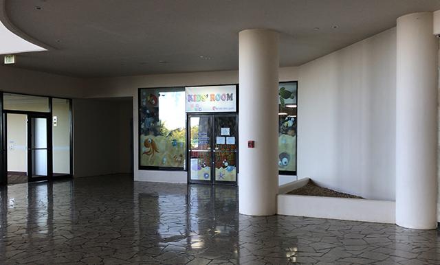 キッズルームの入口